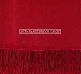 PASHMINA CLASSIC - CASHMERE SHAWL - RED